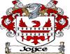 Joyce Coat of Arms Baseball