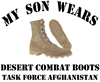 TFA Son Wears Combat Boots Coffee Mug