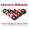 Hume's Billiards Ash Grey T-Shirt