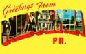 Philadelphia love postcards Postcards