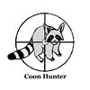 Raccoon Hunter Ornament (Round)