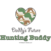 Daddy's Future Hunting Buddy Ornament (Round)