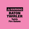 Fire Baton Twirler