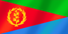 Eritrean flag of Eritrea Rectangle Sticker