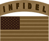 Desert US Infidel Patch