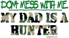 DON'T MESS WITH ME (DAD HUNTE Women's Plus Size Sc
