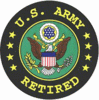 Army Retired<BR>