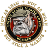 USMC Retired Coffee Mug