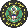 us army retired Ceramic Travel Coffee Mug