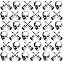 Skull guitar Keepsake Boxes