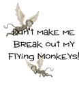 Flying monkeys t shirt Mens Yellow T-shirts