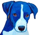 Dog Wrapped Canvas Art
