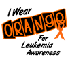 I Wear Orange For Leukemia Awareness 8