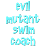 Evil Mutant Swim Coach Women's Plus Size Scoop Nec