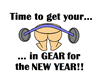 TIME BUTT IN GEAR FOR NEW YEA