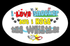 Love Snooker Hate Whistle Oval Sticker