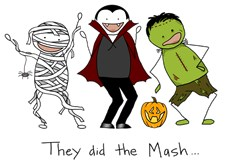 They did the Mash