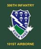 506th Infantry Regiment Mousepad