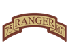 75th Ranger Regt Scroll Deser