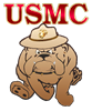 USMC Devil Dog Set (4 Coffee Mugs)