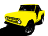 Yellow Bronco