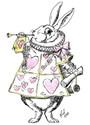 Alice in wonderland Blanket