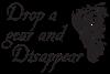 DROP A GEAR DISAPPEAR Large Coffee Mug
