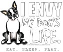 Boston terrier car decal Bumper Stickers