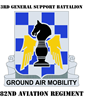 DUI - 3rd General Support Bn - 82nd Aviation Regt