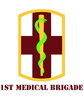 SSI - 1st Medical Brigade with text