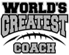 Grey World's Greatest Coach Football