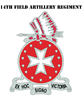 DUI - 1st Bn - 14th FA Regt with Text