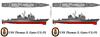 USS Thomas S. Gates CG-51 Large Coffee Mug