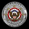 USN Navy Veteran Proud Eagle