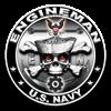 USN Engineman Skull EN Women's Plus Size Scoop Nec
