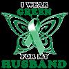 I Wear Green for my Husband Organic Toddler T-Shir