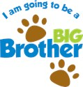 Big brother shirt for dogs Dog T-Shirts
