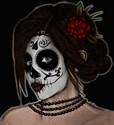 Dia de los muertos womens Necklaces