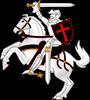 Crusaders Cross - Seal team 6 - (1) Men's Fitted T