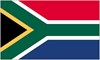 South Africa Country Flag Rectangle Sticker