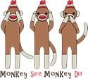 No evil monkeys Laundry Bags