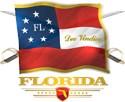 Civil war florida flag Ornaments