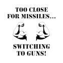 Switching to guns Shot Glasses