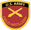 US Army Field Artillery Sticker