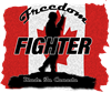 Canadian Freedom Fighter Sticker