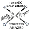 Twirling Athlete T-Shirt