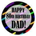 Happy 80th birthday Golf Balls