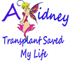 A kidney transplant saved my life fairy Heart Keyc