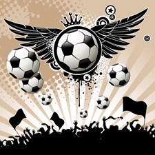 Decorative - Soccer - Football