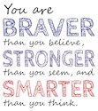 Braver than you believe Thank You Cards & Note Cards